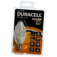 Duracell  LED Candle Light Bulb - 4W SES