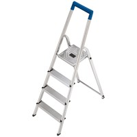 Hailo  L20 Aluminium Safety Ladder - 3 Steps