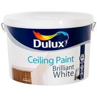 Dulux  Ceiling Paint Matt Brilliant White - 10 Litre