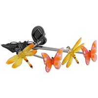Kingfisher  Butterfly & Dragonfly Solar Light Set - 4 Piece
