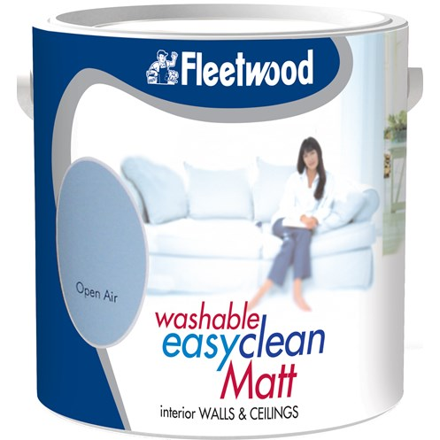 Fleetwood Easyclean Washable Matt Colours Paint - 2.5 Litre