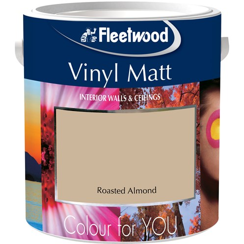 Fleetwood Colour for You Vinyl Matt Colours Paint - 5 Litre
