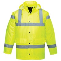 Portwest  Hi Vis Traffic Jacket - Yellow