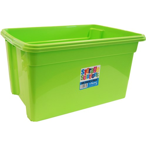 Wham  Stack & Store Storage Box Lime - 50 Litre