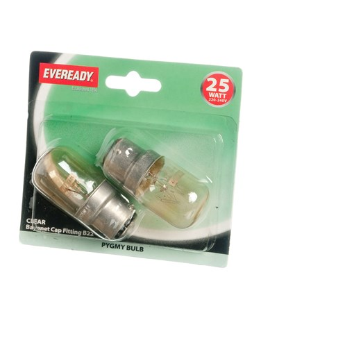 Eveready  Incandescent Pygmy Light Bulb - 25W BC