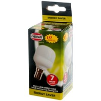 Eveready  CFL Golf Light Bulb - 7W SBC