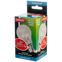 Eveready  Eco Halogen GLS Light Bulb - 28W BC