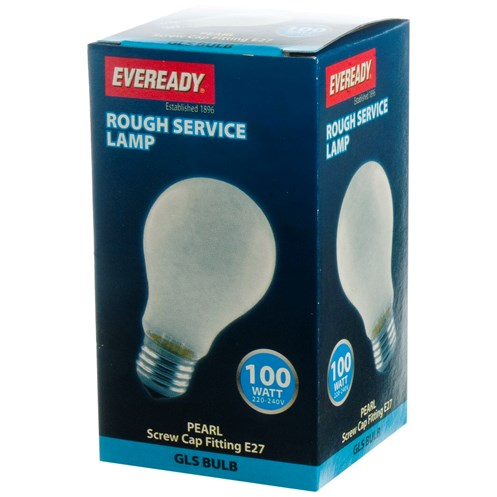 Eveready  Rough Service GLS Light Bulb - 100W ES