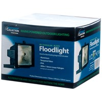 Powermaster  Eco Halogen Floodlight Black - 400W