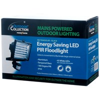 Powermaster  Black Finish Floodlight - 45W