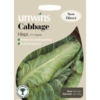 Unwins  Cabbage Hispi Vegetable Seeds