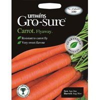 Unwins Gro-Sure Carrot Flyaway Vegetable Seeds