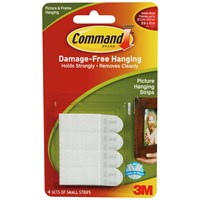 3M Command Picture Hanging Strips - Small