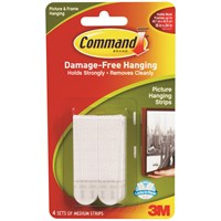 3M Command Replacement Strips - Medium
