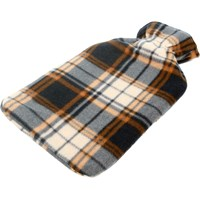 De Vielle  Printed Fleece Hot Water Bottle