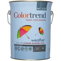 Colortrend  Weather Exterior Masonry Colours Paint - 5 Litre