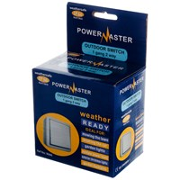 Powermaster  2 Way Outdoor Switch IP66 - 1 Gang