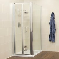 Kristal K2 900 Bifold Shower Door Enclosure