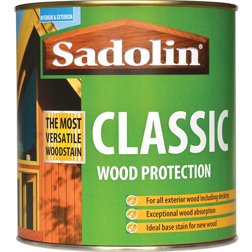Sadolin Woodstain Classic Colours Woodstain - 1 Litre