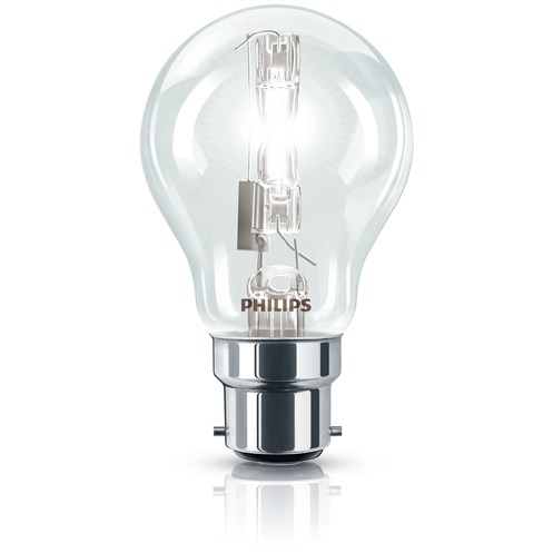 Philips EcoClassic B22 Halogen Light Bulb Boxed - 70W