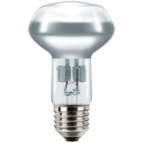 Philips EcoClassic E27 R63 Reflector Light Bulb Blister Pack - 42W