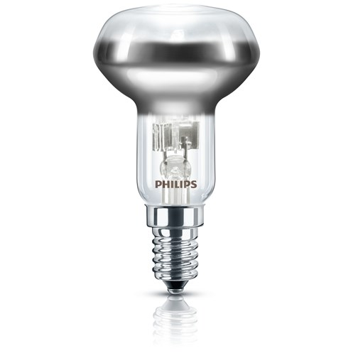Philips EcoClassic E14 R50 Reflector Light Bulb Blister Pack - 28W