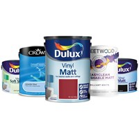 2.5 Litre & 5 Litre Coloured Emulsions 25% off